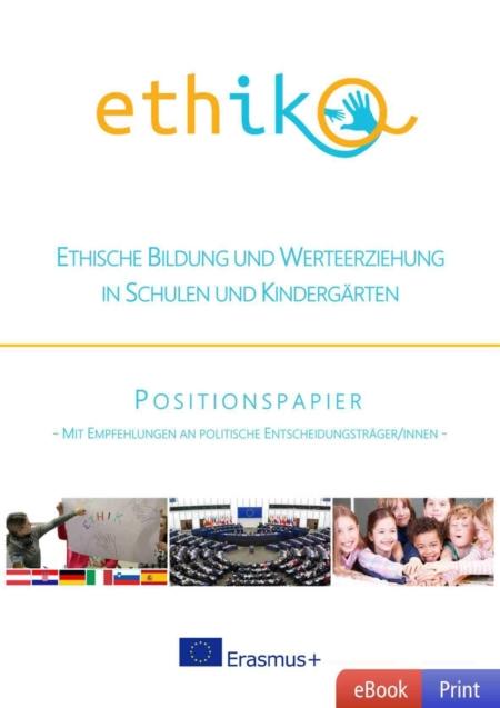 Ethische Bildung und Werteerziehung - Positionspapier